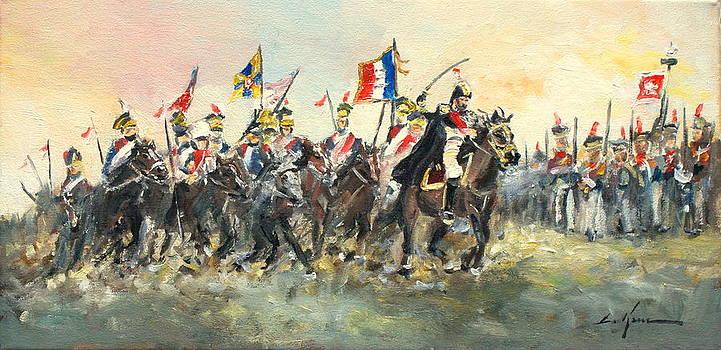 The Battle of Austerlitz by Luke Karcz