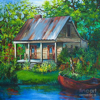 The Bayou Cabin by Dianne Parks