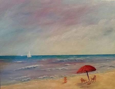 The Beach by Bernadette Amedee