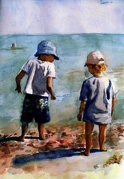 The Beach Children by Nicole Lane