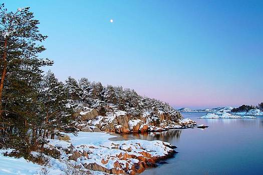 The beach in December by Sonya Kanelstrand