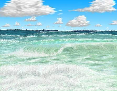 The beach by Mark Teeter