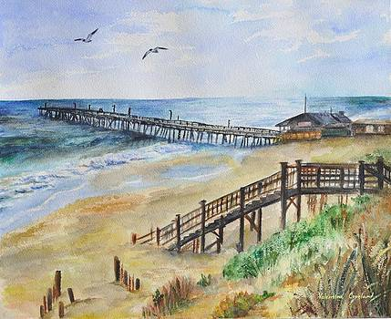 Nags Head Fishing Pier by Valentina Copeland