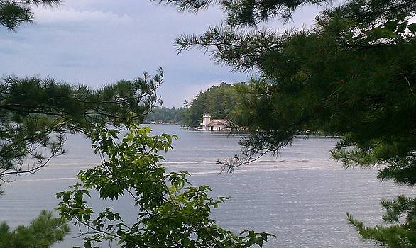 The Beacons on Lake Minocqua by Heather Baum