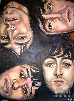 The Beatles Inspired Portrait by Misty Smith