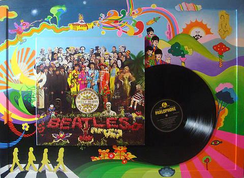 The Beatles by Muriel Dolemieux