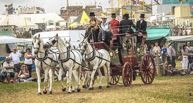 The Beautiful Dorset Steam Fair by Tony  Golding