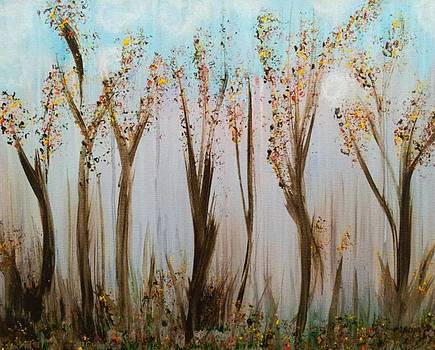The Beauty of Trees in the Fall by Lady Ex