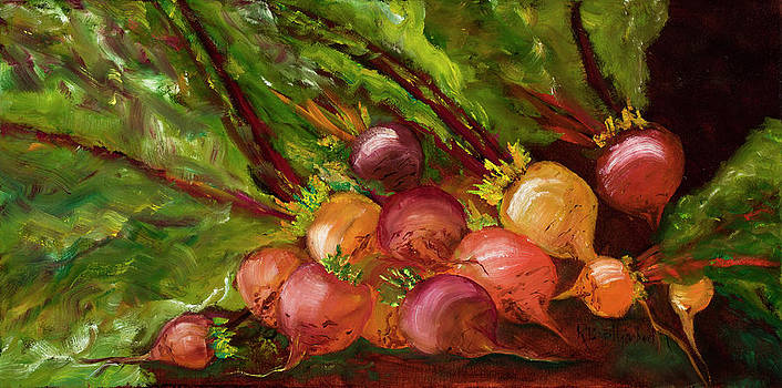The Beets of Farmers Market by Rosemary Buettgenbach