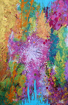 Contemporary Abstract  by Julia Apostolova
