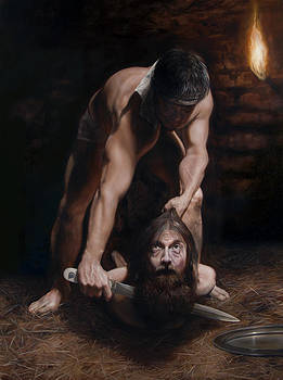 The Beheading of St. John the Baptist by Eric  Armusik