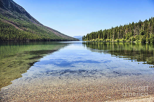 The Best Beach in Glacier National Park by Scotts Scapes