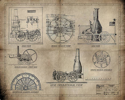 The Best Friend Locomotive Machine by James Christopher Hill