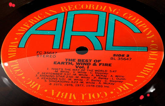 Marcello Cicchini - The Best of Earth Wind and Fire Vol 1 Side 2