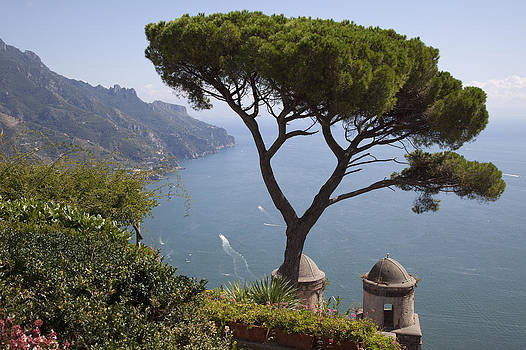 The Best View in Ravello Italy 2 by Denise Rafkind