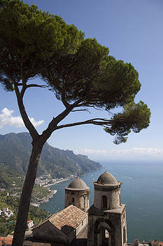 The Best View in Ravello Italy by Denise Rafkind