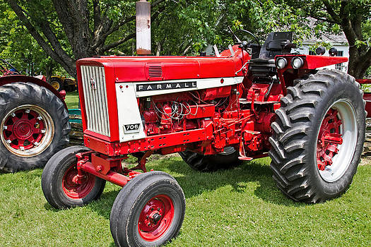 The Big Farmall by Wayne Stabnaw
