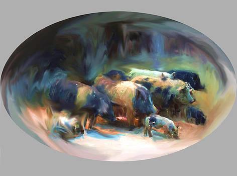 Usha Shantharam - The Big Fat Family of Pigs.