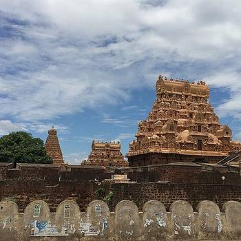 The Big Temple Of Them All. Tanjore by Srivatsa Ray