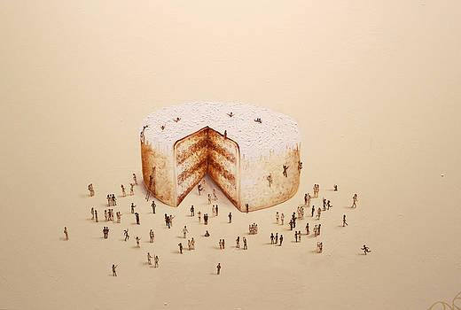 The Biggest Cake on Earth by Natasha Kudashkina