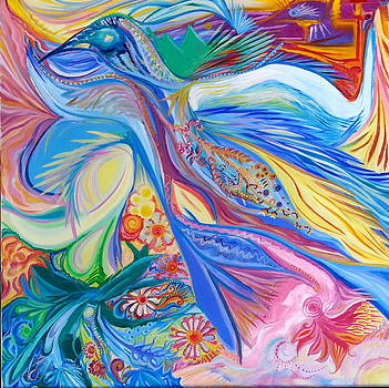 The bird of paradise by Marie-Chantal Kindou