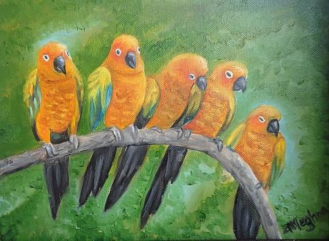 The Birdy Party by Meghna Suvarna