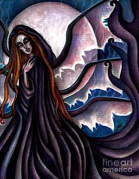The Black Belladonna by Coriander  Shea