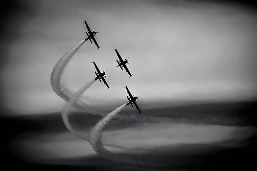 The Blades in Formation Sunderland Air Show 2014 by Scott Lyons