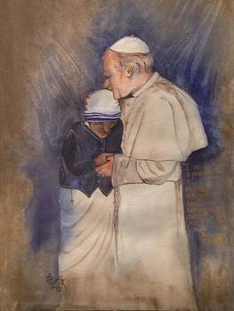 The Blessed Ones - Pope John Paul II and Mother Teresa by Laura LaHaye