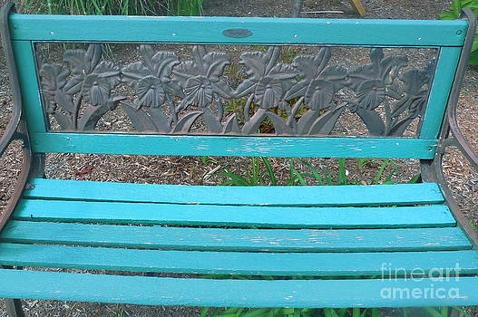 The Blue Bench 1 by Bruce Tubman