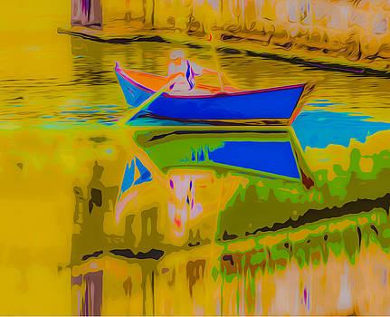 Algirdas Lukas - The Blue Boat