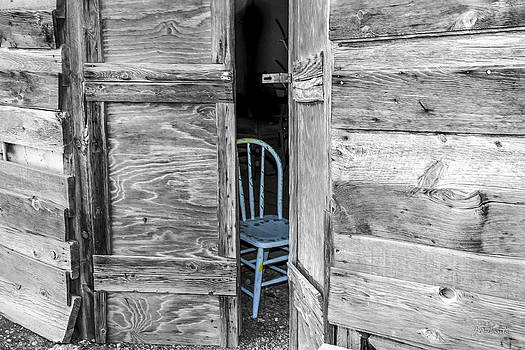 The Blue Chair by Julie Basile