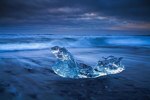 The Blue Diamond by Arnar B Gudjonsson