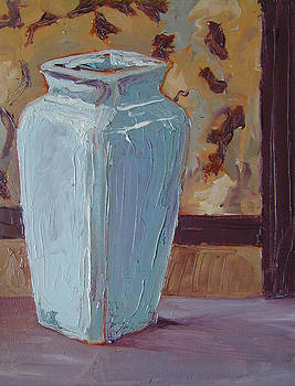 The Blue Vase by Don Perino