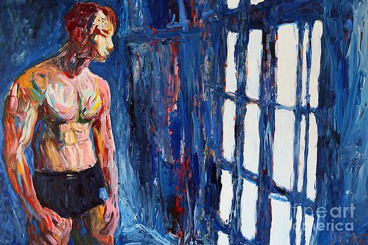 The blue window 2563 by Lars  Deike