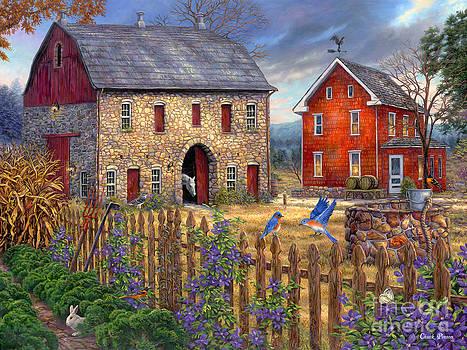 The Bluebirds' Song by Chuck Pinson