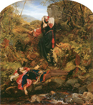 Sir Joseph Noel Paton - The Bluidie Tryst