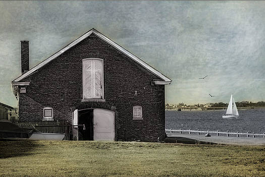 The Boat House Newport by Robin-Lee Vieira