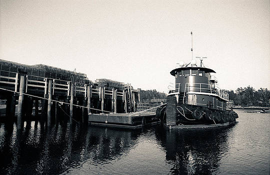 The Boat That Tugs by Will Gunadi