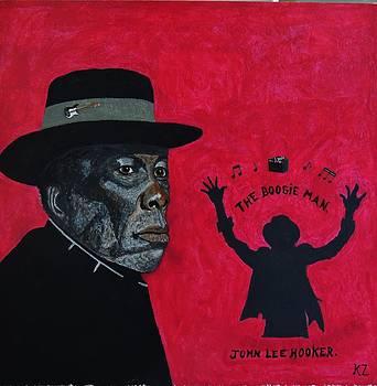 The boogie man.John Lee Hooker. by Ken Zabel
