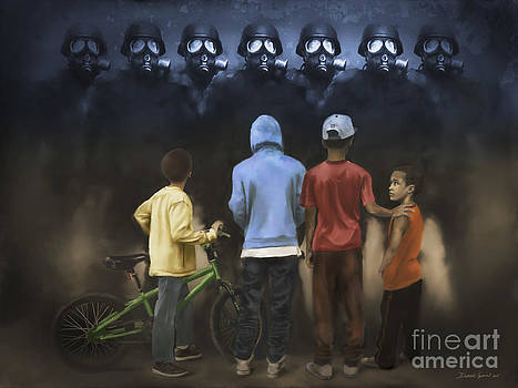 The Boogie Men by Dwayne Glapion