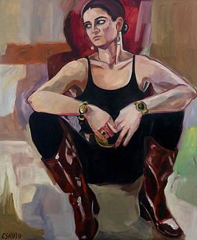 The Boots by Carmen Stanescu Kutzelnig