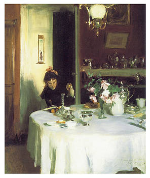 John Singer Sargent - The Breakfast Table