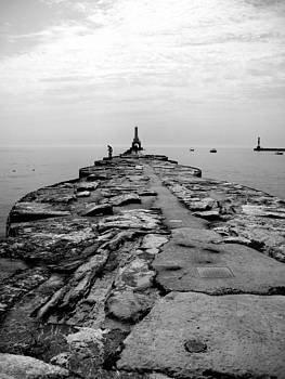 Gilbert Photography And Art - The Breakwall at Port