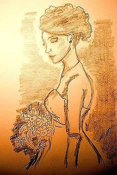 The Bride by Farfallina Art -Gabriela Dinca-