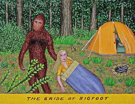 The Bride of Bigfoot by Stephen Warde Anderson