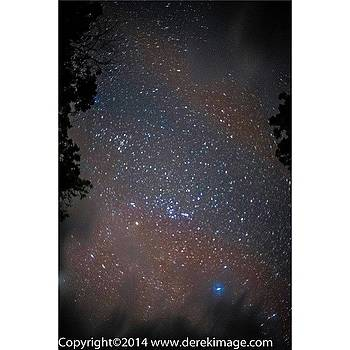 The Brief View Of Stars In The Amazon by Derek Kouyoumjian