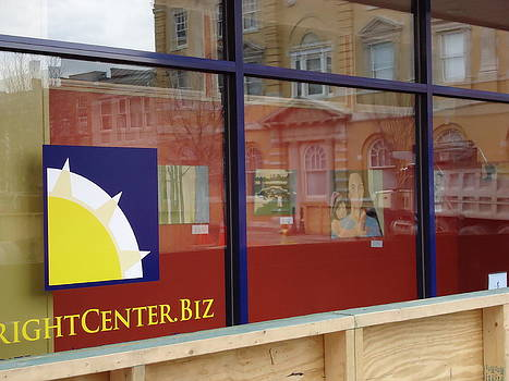 The Bright Center window gallery by Otis L Stanley
