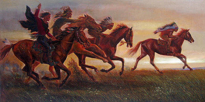The Bright Lure of Freedom by Svitozar Nenyuk