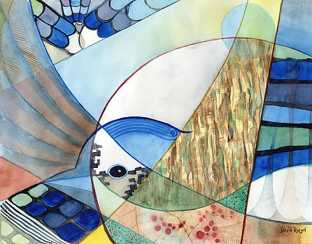 The Brilliant Blue Jay by David Ralph